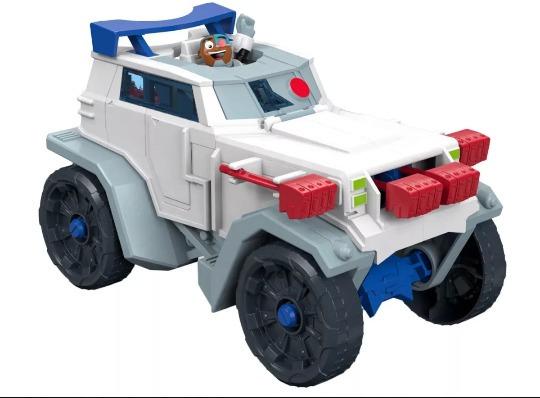 Camion Cyborg De Los Jovenes Titanes