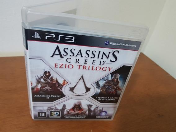Assassins Creed Ezio Trilogy Usado Ps3 Mídia Física
