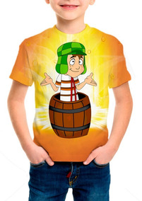 Camiseta Infantil Anime A Turma Do Chaves - M01