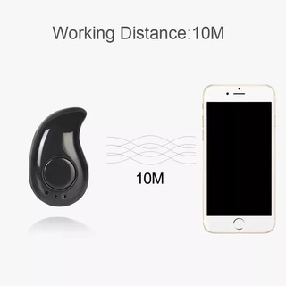 Mini Fone De Ouvido S530 V4.1 Sem Fio Bluetooth Micro