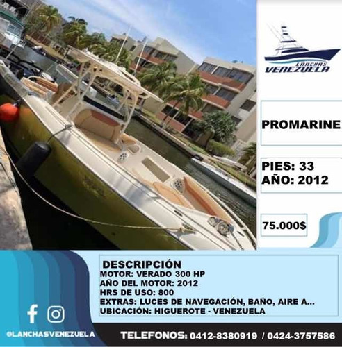 Lancha Promarine 33 Lv123
