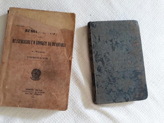 2livretos- Cavallaria 1908 E Infantaria 1932-leia Descrição