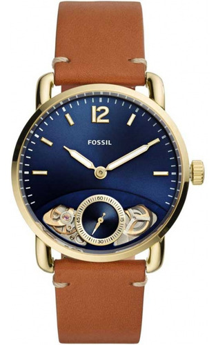 Relógio Fossil Masculino Commuter Automático Me1167/0dn