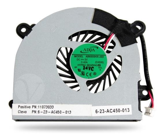 Cooler Notebook Positivo Itautec W345 6-23-ac450-013 Ab6505h
