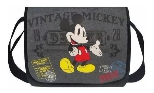 Mochila Messenger Mickey Disney Pronta Entrega 100% Original