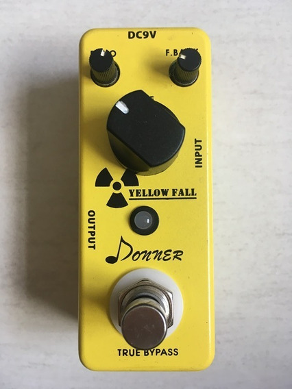 Pedal Donner Yellow Fall Delay