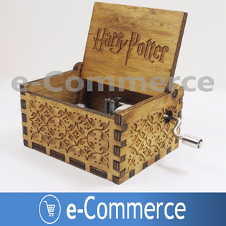 Caja Musical Harry Potter Cajita Musical Coleccion Cosplay