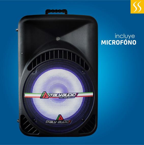 Caja Amplificada Italy Audio 100000w 400 Rms Semiprofesional