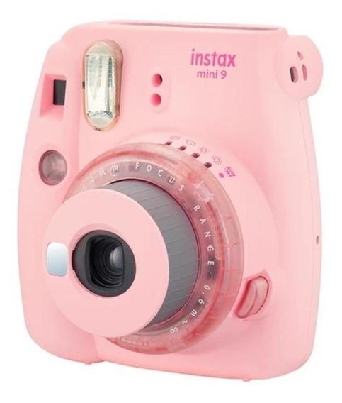 Câmera Instantânea Fujifilm Instax Mini 9 - Cor Rosa Chiclé