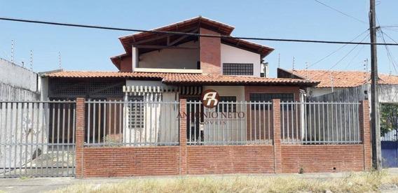 Casa Com 4 Dormitórios À Venda, 389 M² Por R$ 730.000,00 - Cidade Dos Funcionários - Fortaleza/ce - Ca0160