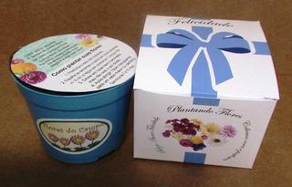 Mini Kit Felicidade Flores Do Campo - Combo 20 Unidades
