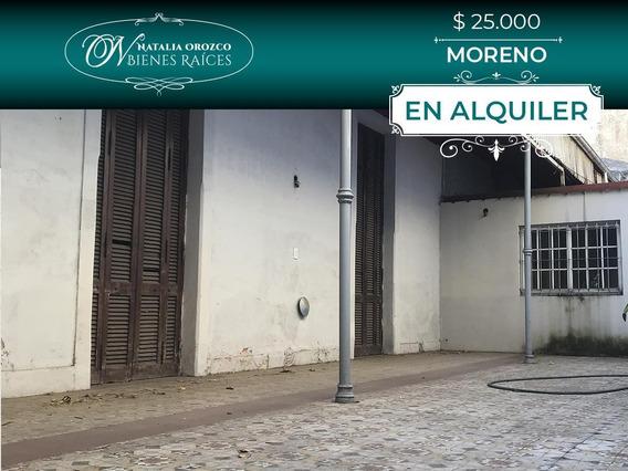 Casa En Alquiler - Moreno - Apto Comercial- Apto Profesional