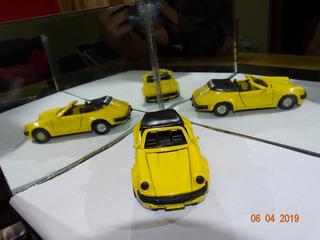 Miniatura S/ Nome Na Base Made In China Porsche Amarelo B994