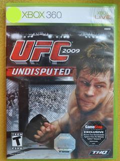 Ufc 2009 Undisputed Xbox 360 Play Magic