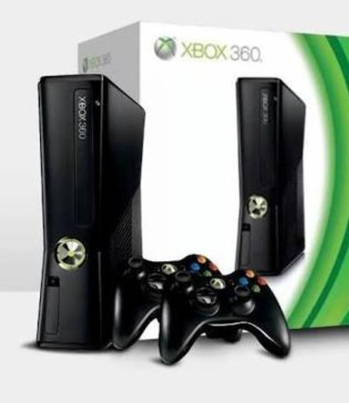 Vídeo Game X Box 360 Com 2 Controles E 2 Jogos