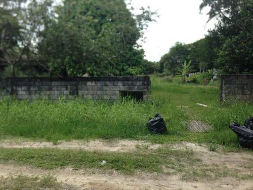 Terreno Parcialmente Murado No Gaivota Em Itanhaém -2561 Npc