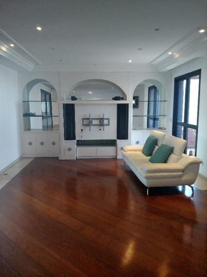 Apartamento Com 4 Dormitórios À Venda, 394 M² Por R$ 2.800.000,00 - Jardim Anália Franco - São Paulo/sp - Ap1630