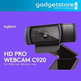 Webcam Logitech Hd Pro C920 1080p Widescreen Video Llamada