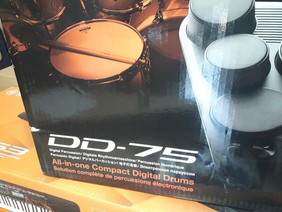 Bateria Yamaha Digital Dd75 Nueva Sellada. De Paquete!!