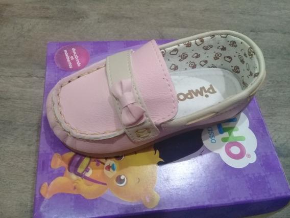 Sapato Mocassim Infantil Menina