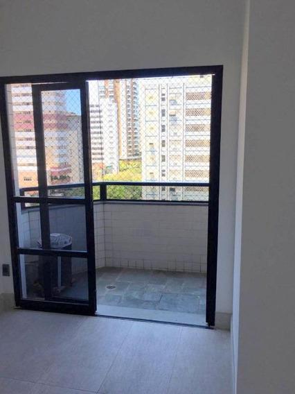Apartamento Com 1 Dormitório Para Alugar, 49 M² Por R$ 2.000/mês - Campo Grande - Santos/sp - Ap0779