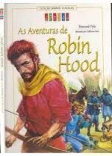 Col. Grandes Clássicos Gênios - As Aventuras De Robin Hood