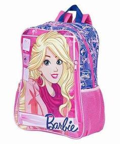 Mochila Grande Barbie 18m Cód: 064851-00
