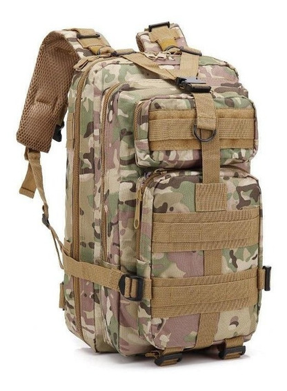 Mochila Militar Tática Camuflada Assault 30l Profissional