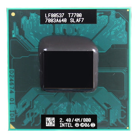 Intel Core 2 Duo T7700 Cache 4mb 2.40ghz 800mhz Fsb Notebook