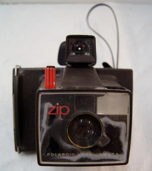 Antiga Máquina Fotográfica Polaroid Land Zip Câmera