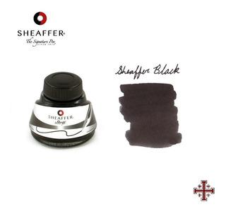Tinta Para Pluma Fuente. Sheaffer 50 Ml. Color Negro.