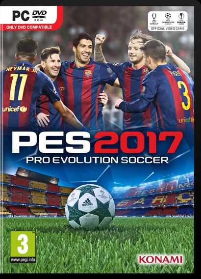 Pes 2017 + Patch Bmpes 6.0 Pc (mídia Digital)