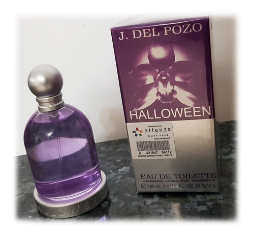 Loción Perfume Halloween 100ml  Jesus - L a $1100