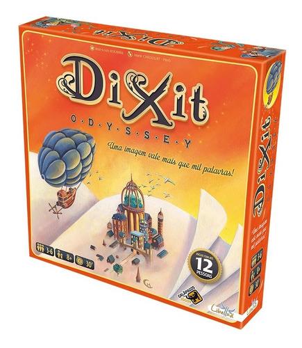 Dixit Odyssey Board Game Tabuleiro Lacrado Galápagos Jogos