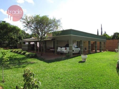 Chácara Com 6 Dormitórios À Venda, 5000 M² Por R$ 1.050.000,00 - Recreio Internacional - Ribeirão Preto/sp - Ch0087