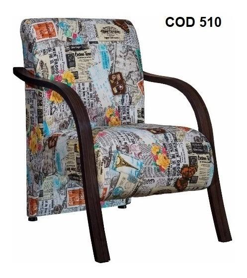 Poltrona Decorativa - Cadeira Sala, Quarto, Recepção Fabrica