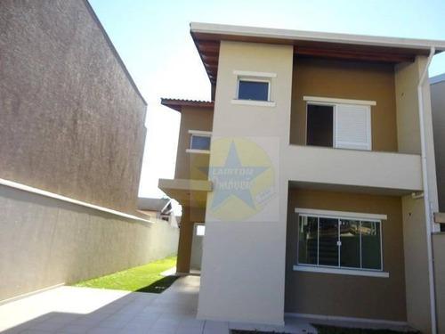 Casa Residencial À Venda, Vila Santista, Atibaia - Ca0984. - Ca0984