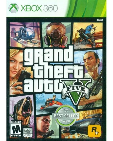 Grand Theft Auto V - Xbox 360 Mídia Física Lacrada Original