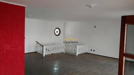 Casa Com 3 Dormitórios Para Alugar, 450 M² Por R$ 3.600/mês - Vila Galvão - Guarulhos/sp - Ca0136