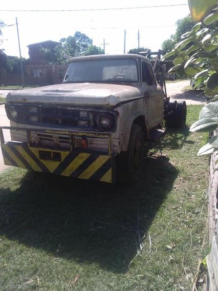Camión Chasis Largo Con Cabina