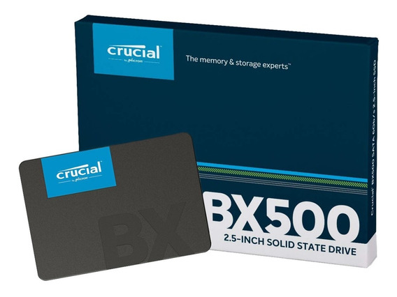 Ssd 480gb Crucial Bx500 Hd Sata3 Ct480bx500ssd1 2,5 Promoção
