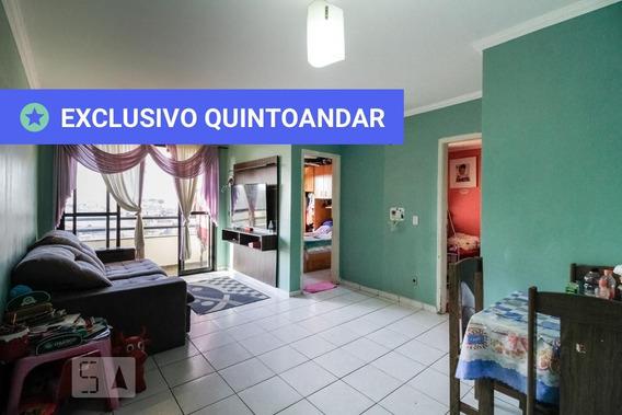 Apartamento No 9º Andar Com 2 Dormitórios E 1 Garagem - Id: 892944110 - 244110