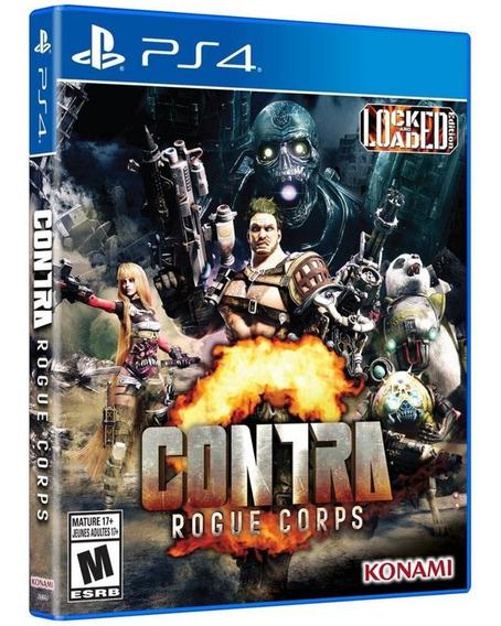 Game Contra Rogue Corps Ps4 Disco Fisico Lacrado Português