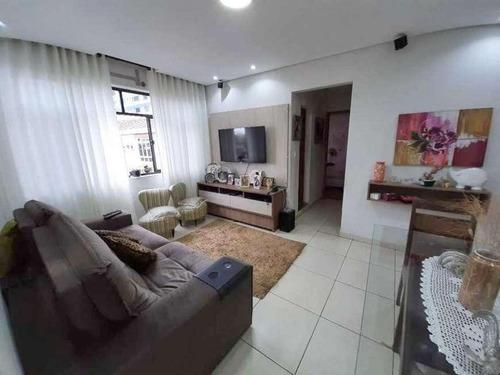 Apartamento À Venda, 88 M² Por R$ 460.000,00 - Embaré - Santos/sp - Ap1014