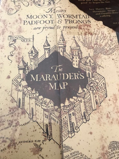 Mapa Mereorador Harry Potter
