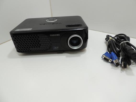 Projetor Data Show Toshiba Tdp Sp1 2200 Lumens