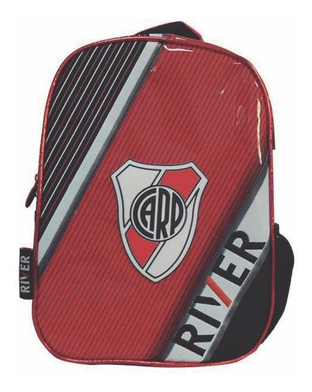 Mochila Espalda Jardin 12p Futbol River Plate Mundo Manias