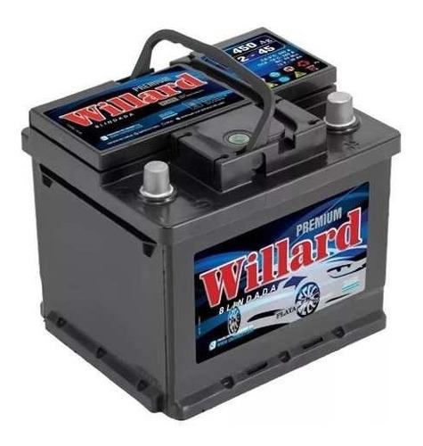 Imagen 1 de 7 de Bateria Willard 12x45 Ub450 Cambio A Capital Sin Cargo