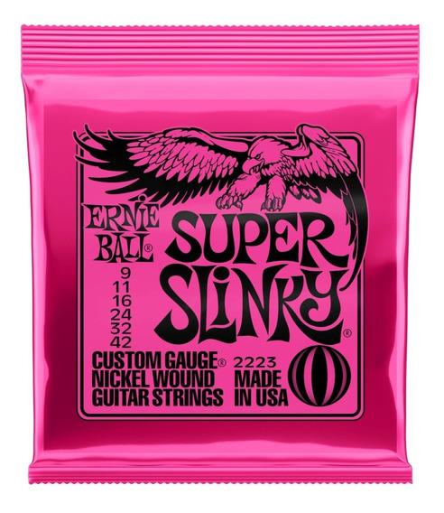 Encordaduras Ernie Ball Super Slinky 9-42