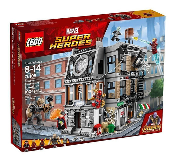 Lego Avengers Duelo En El Sancta Sanctorum 76108